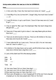 Worksheets Year 3 English Worksheets english worksheets find the difference worksheet for year 3 3