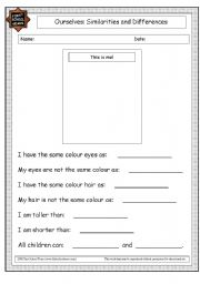 English Worksheets: ourselves