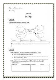 English Worksheet: lesson 25