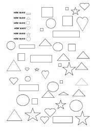 how many shapes esl worksheet by maenab. Black Bedroom Furniture Sets. Home Design Ideas