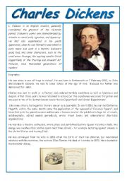 charles dickens life related to his