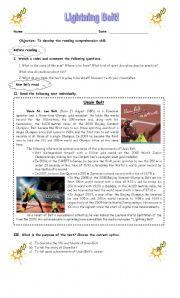 Usain Bolt Biography