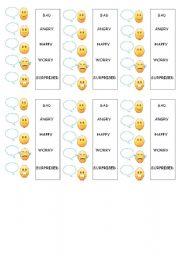 English Worksheets: feeling expresions