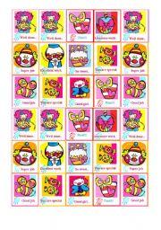 English Worksheet: Encouragement stickers