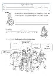 How to train your dragon worksheets english worksheet how to train your dragon follow up activity ccuart Image collections