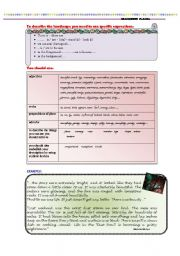 English Worksheet: DESCRIBING PLACES