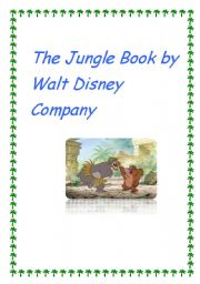 English Worksheet: The Jungle Book by Walt Disney Company