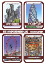 The London Landmarks Game - Part 3 - Modern London