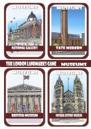 The London Landmarks Game - Part 5 - Museums