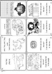 English Worksheets: Lion book