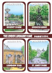 The London Landmarks Game - Part 8 - Parks