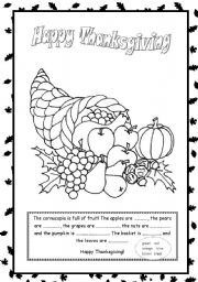 esl coloring pages family traditions - photo#38