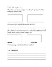 Printables Gravity Worksheets english teaching worksheets gravity gravity