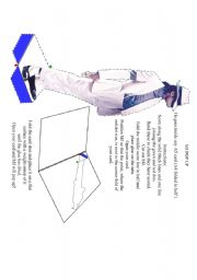 English Worksheets: mj pop up card template