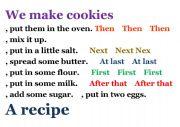 English Worksheets: we makes cookies