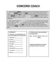 English Worksheets: Reading/Writing activity