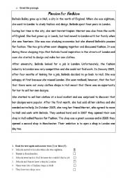 English Worksheet: intensifiers, question tags