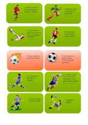 football / soccer card game PART 1