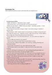English Worksheets: Conversation - Introductions
