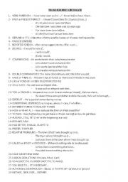 English Worksheets: Trick for FCE