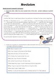 English Worksheets: Revision!