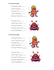 English Worksheets: Write true or fales