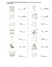 Printables Phonics Test Worksheets english worksheets phonics test consonant digraphs worksheet digraphs