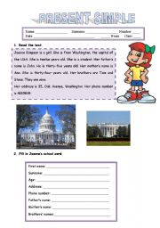English Worksheets: READING COMPREHENSION - 2 pages