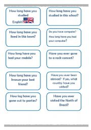 English Worksheets: Have you ever and How have you??