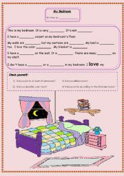 describing my bedroom essays _let us think about a place that we feel secure, comfortable and warm as far as i am concerned, i will say my bedroom is the place that exactly fits this.