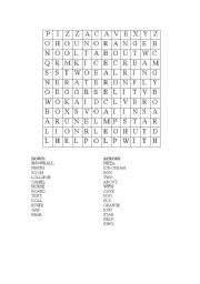 English Worksheet: cryptograms