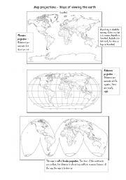 map projections worksheet - Pelit.yasamayolver.com