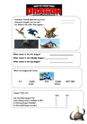 how to train your dragon writing