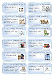 English Worksheet: Mamo Cards (11): USED TO