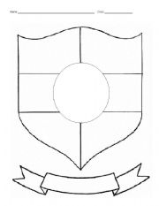Worksheets Coat Of Arms Worksheet coat of arms worksheet pictures to pin on pinterest pinsdaddy personal
