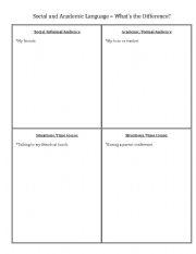 English teaching worksheets: General vocabulary
