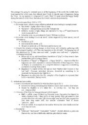 English Worksheets: The Fifth Chil commentary passage 2 (page 20 to 22)
