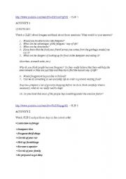 English Worksheets: freeganism - homework