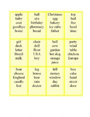 English Worksheets: Drawing cards