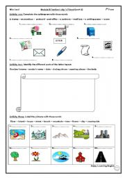 English Worksheets:  Aly�s friend