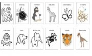 Animal mix cards