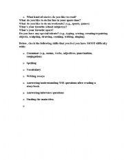 English Worksheets: lies/dislikes