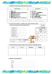 English Worksheet: Weather/Seasons/Clothes/Countries activities