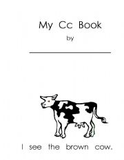 English Worksheets: My Cc Book