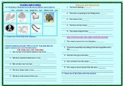 English Worksheets: pRACTICE - READING COMPREHENSION