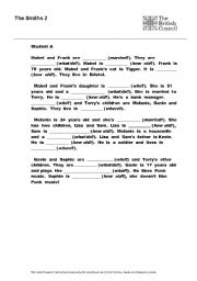 English Worksheets: The Smiths