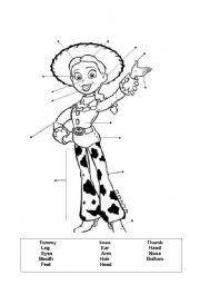 English Worksheets: Woody�s girlfriend