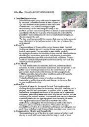 English Worksheets: safe hiking