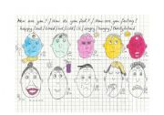 English worksheet: How do you feel