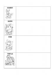 English Worksheets: Happy faces chart